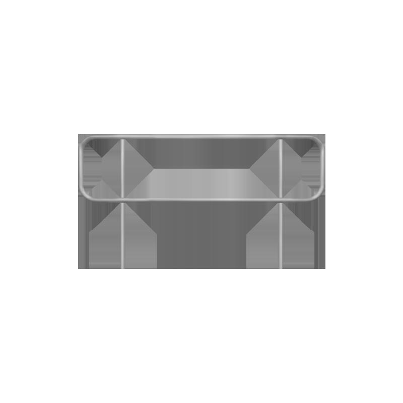 Handrail for floating pontoon gangway - 3m