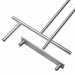 The ends of the floating pontoon tool for connecting pin