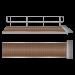 Illustration of Floating pontoon gangway